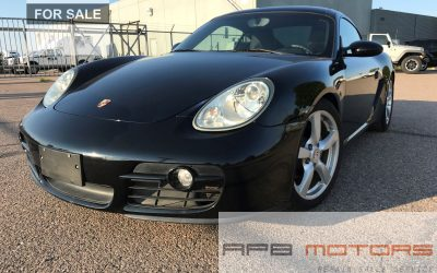 2007 Porsche Cayman Luxury Coupe 2dr, RWD – Denver, CO – ***$19,500.00***