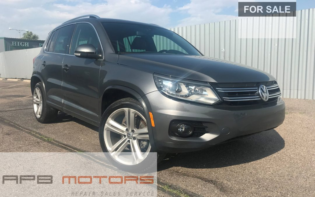 2015 Volkswagen Tiguan R Line 4Motion AWD 4dr SUV for sale in Denver, CO – ***SOLD***