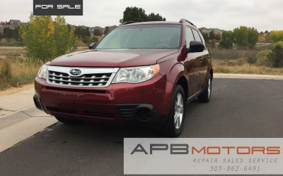 2013 Subaru Forester X AWD 2.5L – Check it Out for sale in Denver, CO ***$8300.00***
