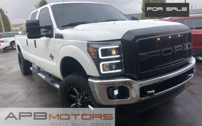 2015 Ford F-350 Super Duty 6.7l diesel 4×4 long bed crew cab for sale in Denver, CO ***$29,900***