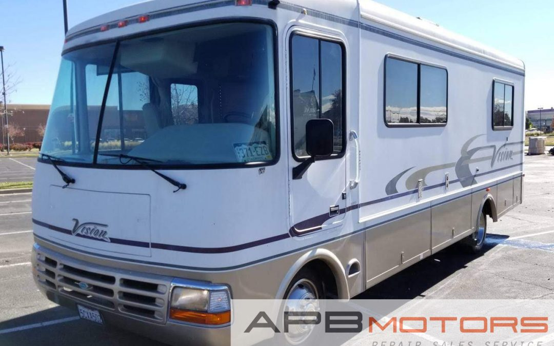 2003 Rexhall Vision M-26 class A RV motorhome for sale in Denver, CO ***SOLD***