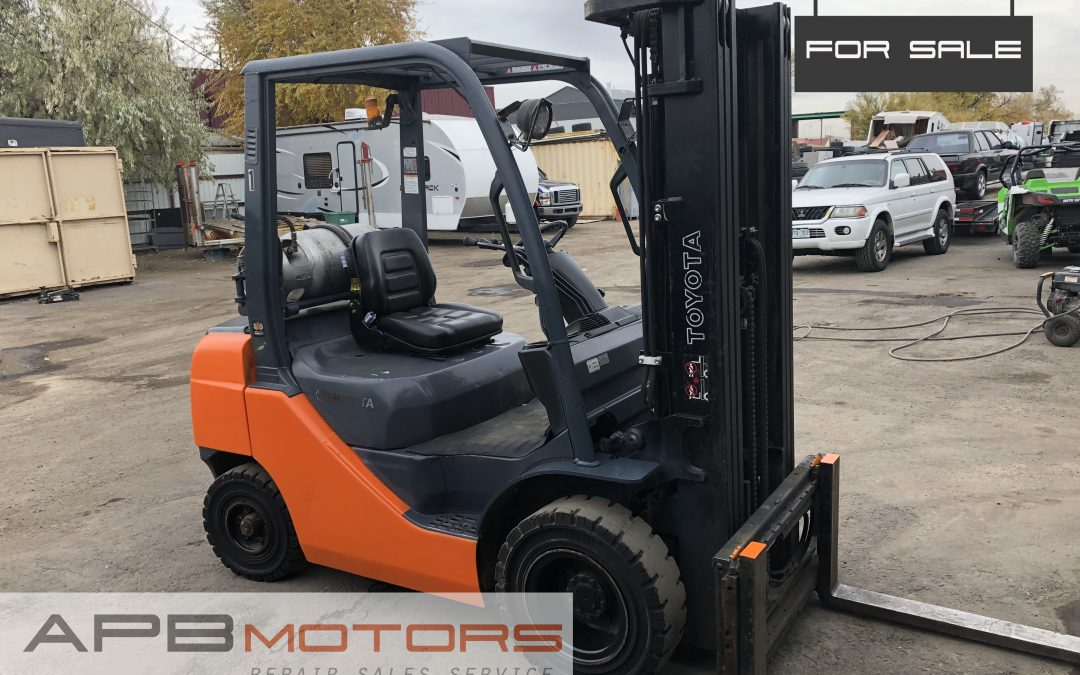 2014 Toyota 8FGU25 Forklift 5k lift capacity for sale in Denver, CO ***$16,500***