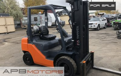 2014 Toyota 8FGU25 Forklift 5k lift capacity for sale in Denver, CO ***SOLD***