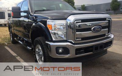 2011 Ford F250 crew cab super duty 6.7l diesel 4×4 pickup truck ***$22,500***