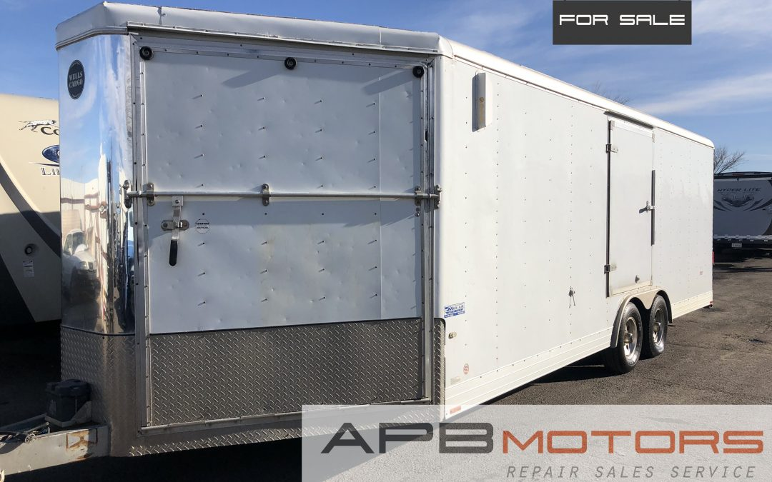 2007 Wells Cargo enclosed Cargo /snowmobile / atv trailer  for sale in Denver, CO ***SOLD***