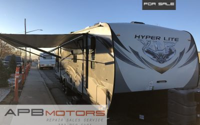 2015 Forest River hyperlite XLR toyhauler RV camper trailer bunk house ***SOLD***
