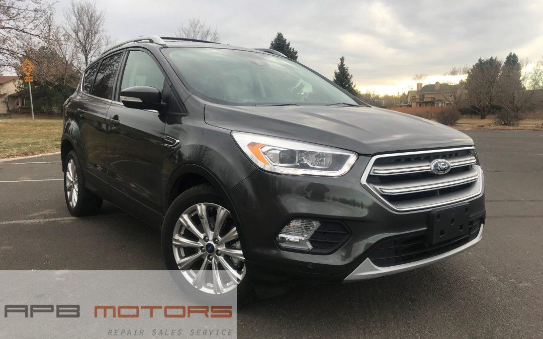 2017 Ford Escape Titanium AWD 25k mi – ***SOLD***
