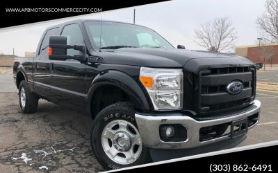 2011 Ford F250 crew cab super duty 6.7l diesel 4×4 pickup truck ***SOLD***