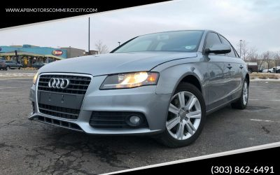 2011 Audi A4 2.0T Quattro Premium AWD Denver, CO – ***$10,500***