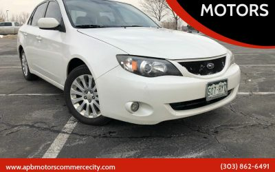 2008 Subaru Impreza 2.5 AWD Denver, CO – ***$6,500***