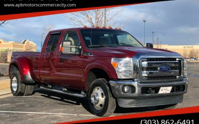 2015 Ford F-350 Super Duty 4×4 Lariat FX4 Long Bed, Dually – ***$43,500***