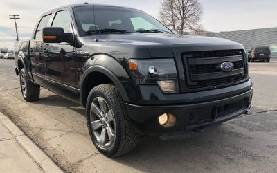 2014 Ford F-150 FX4 SuperCrew Styleside 4×4 SB Denver, CO – ***$24,800***