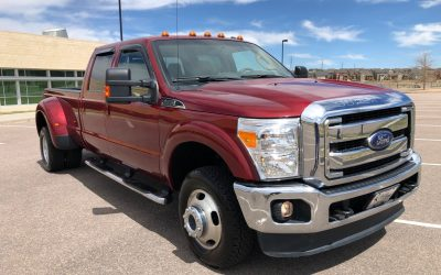 2015 Ford F-350 Super Duty 4×4 Lariat FX4 Long Bed, Dually – ***SOLD***