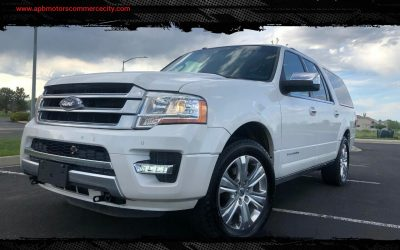 2016 Ford Expedition EL Platinum AWD SUV DVD Entertainment for sale in Denver, CO ***$26,500***