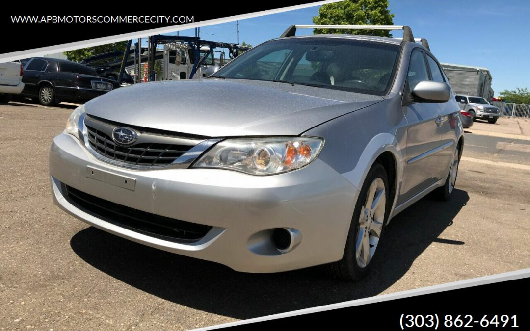 2009 Subaru Impreza Outback sport wagon 2.5 AWD for sale in Denver, CO ***SOLD***