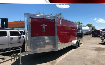 2012 MTI aluminum snowmobile enclosed trailer for sale in Denver, CO ***$9800***