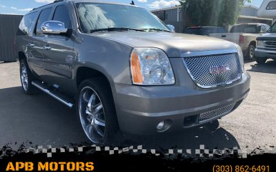 2007 GMC Yukon XL 1500 SLT 4×4 SUV for sale in Denver, CO ***SOLD***