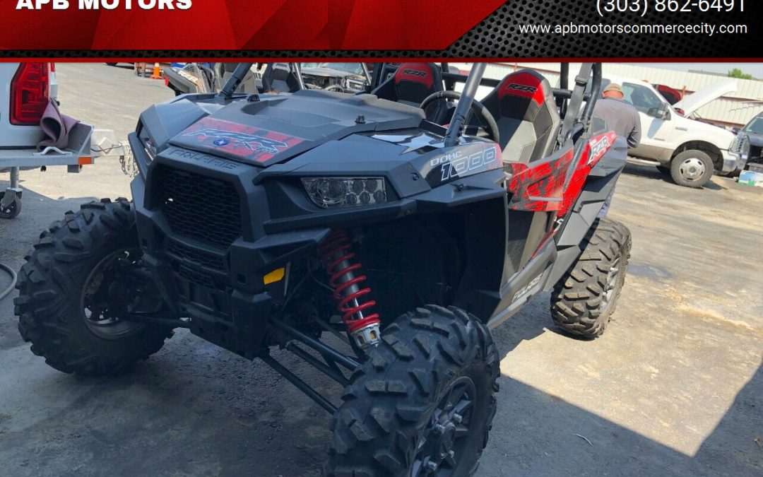 2018 Polaris RZR XP 1000 EPS for sale in Denver ***SOLD***