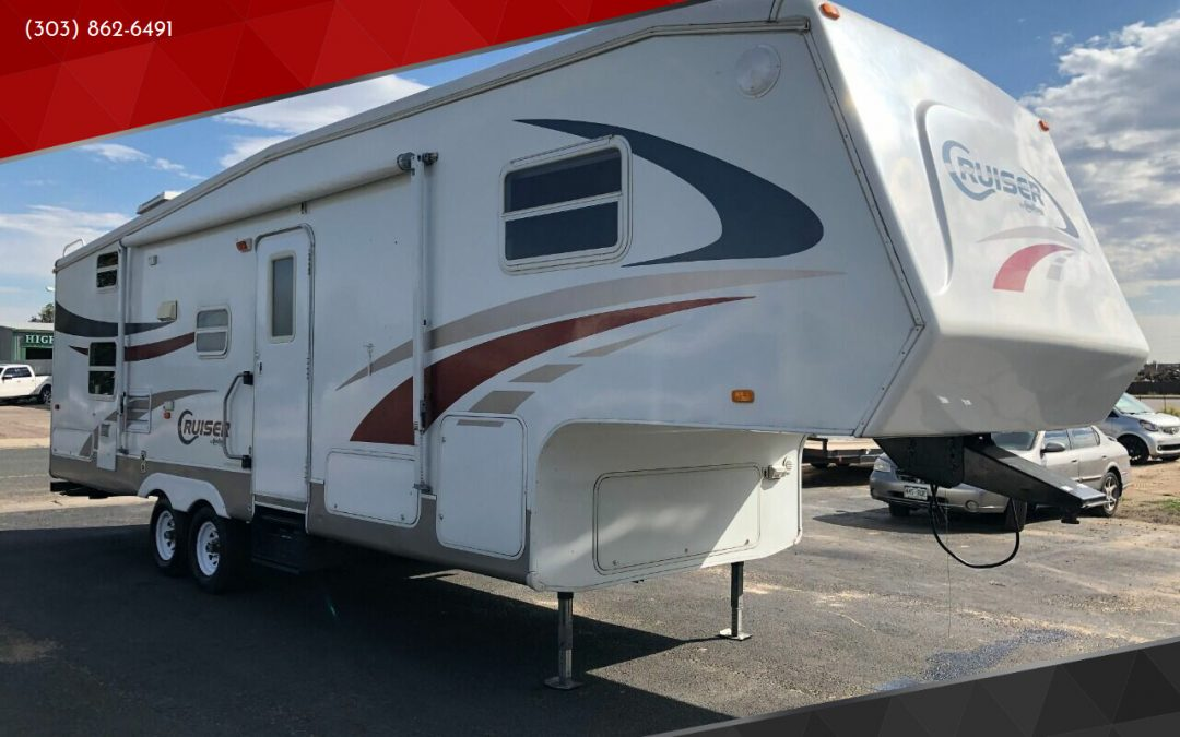 2005 Crossroads Cruiser 30BH Bunkhouse 5th wheel travel trailer camper for sale in Denver, CO  ***SOLD***