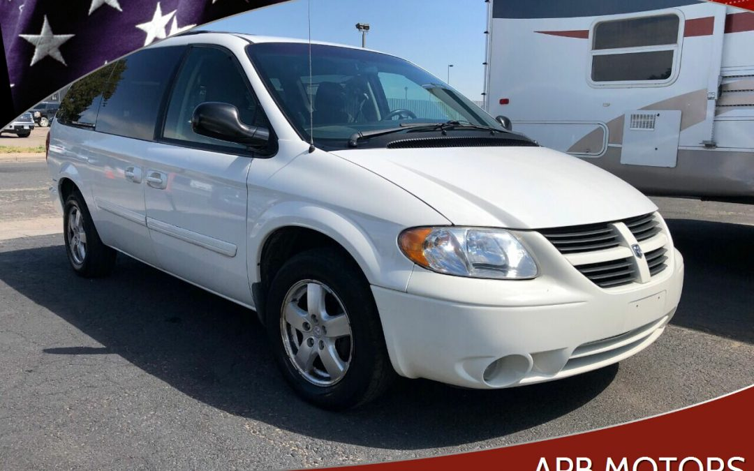 2007 Dodge Grand Caravan SXT Extended mini van for sale in Denver, CO ***SOLD***