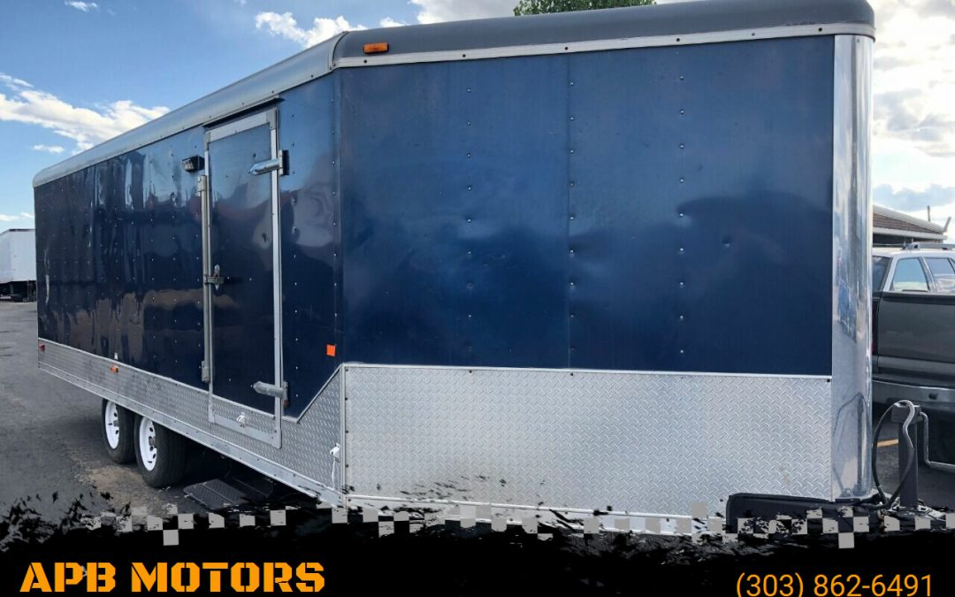 2009 MTI Middlebury Trailer Enclosed sport trailer for sale in Denver, CO ***SOLD***