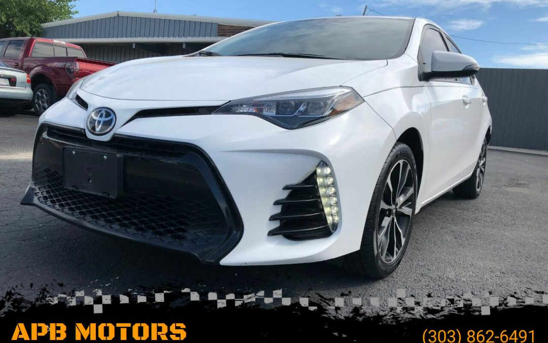 2017 Toyota Corolla SE 4dr Sedan for sale in Denver, CO ***SOLD***