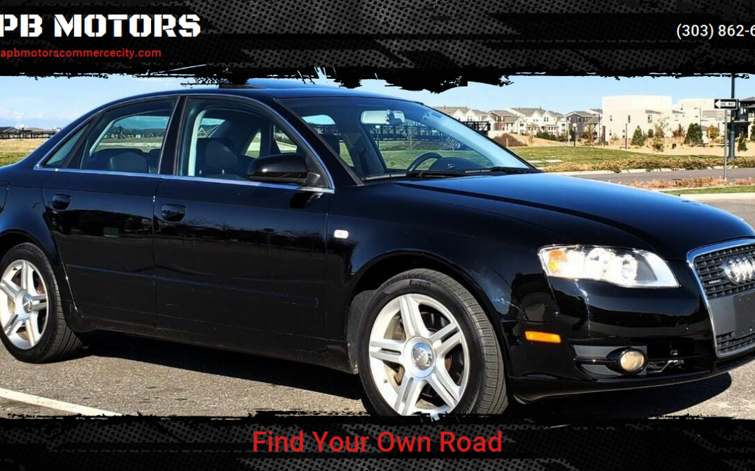 2007 Audi A4 2.0t Quattro all wheel drive sedan for sale in Denver, CO ***SOLD***