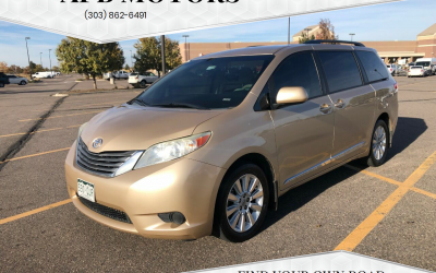 2011 Toyota Sienna LE minivan for sale in Denver, CO ***SOLD***
