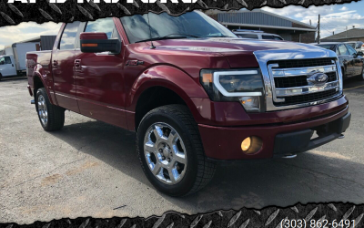2013 Ford F-150 FX4 crew cab pickup truck for sale in Denver ***$17,000***
