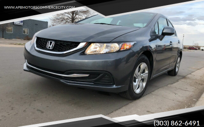 2013 Honda Civic LX 4 door sedan for sale in Denver, CO ***$8,900***