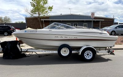 2002 Maxum Marine 1800-SRL boat for sale in Denver, CO ***SOLD***