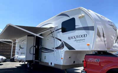 2015 Forest River Rockwood 5th wheel camper trailer 3 slides ***SOLD***