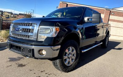 2014 Ford F-150 XLT 4×4 pickup truck Crew Cab Rear Cam for sale in Denver, CO ***SOLD***