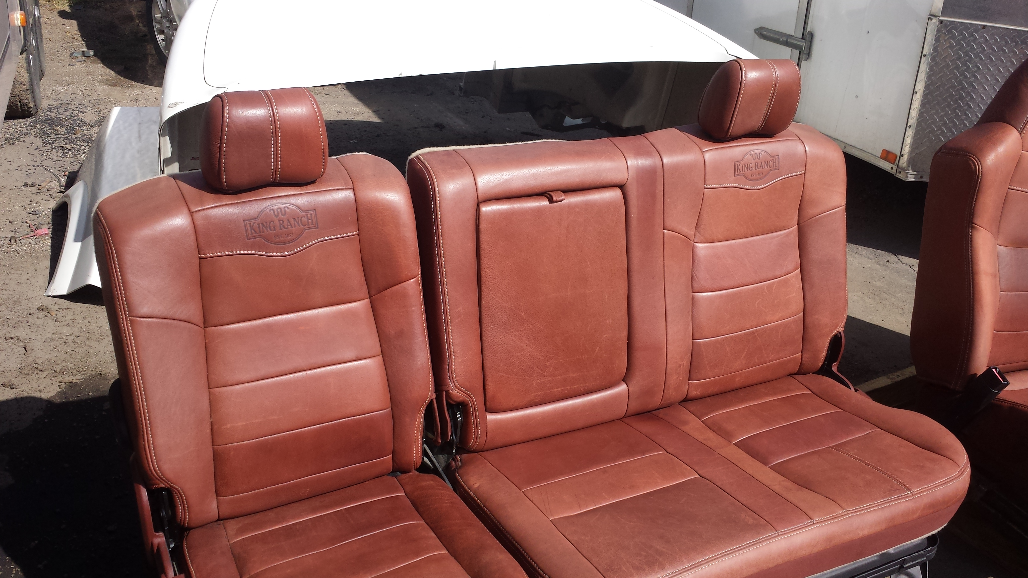 king ranch interior 2009 ford f 350 king ranch interior seats and center 930