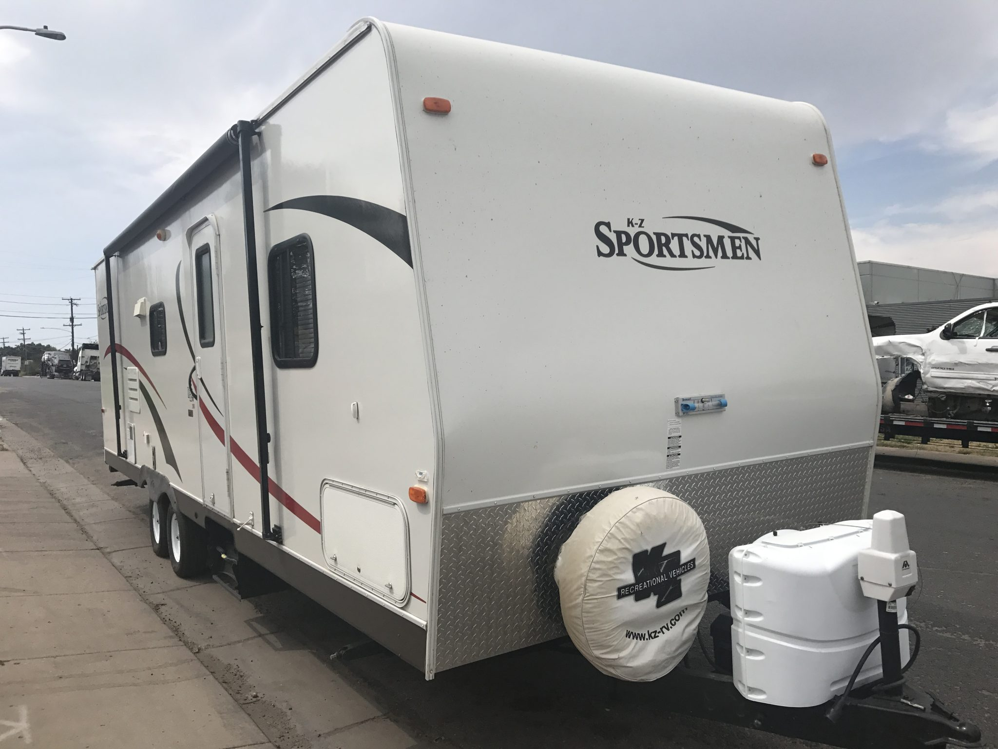 2011 K Z Sportsmen 290 Bumper Pull Travel Trailer 1 Slide